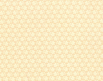 Strawberry Fields Revisited - Daisy Blooms in Blush Pink: sku 20267-16 cotton quilting fabric by Fig Tree for Moda Fabrics - 1 yard