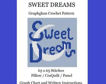 Sweet Dreams - Graphghan Crochet Pattern
