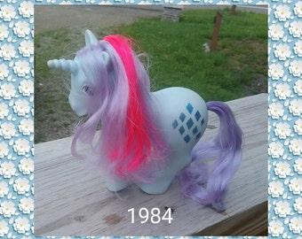 My pretty pony vintage 1984 unicorn