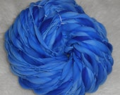 Really Blue Marble Kettle Dyed Thick n Thin  Merino 75 Super Bulky yards 4 oz
