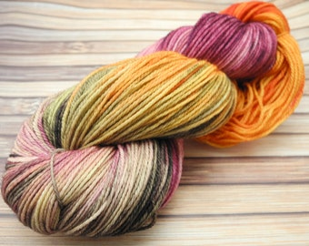 66 Sunset - Super Ego Sport Hand Dyed Yarn - In Stock