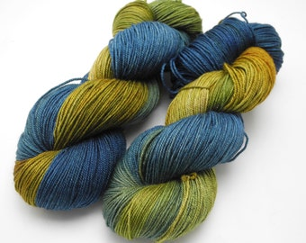 Very Starry - Hand Dyed Yarn -Sock Yarn - Worsted - Various Sizes -  Dyed to Order