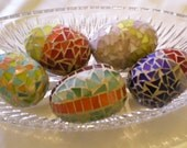 Stained Glass Mosaic Egg Great for Easter