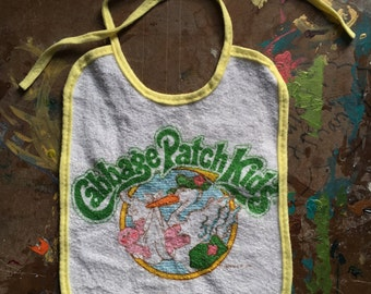 Vintage Cabbage Patch Bib