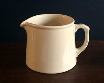 Vintage Australian Fowler farmhouse cream creamer milk jug