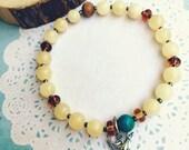 Custom for Shanon Gemstone Stretch Stacking Bracelet