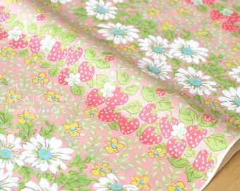 Japanese Fabric - Yuwa daisy lawn - B - 50cm