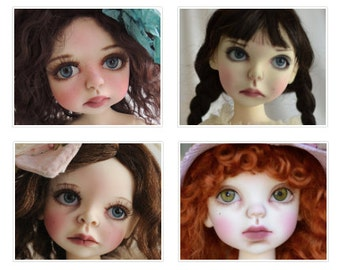 Add Eyelashes to your BJD