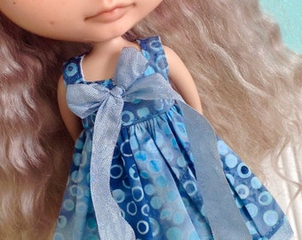 Dress for Blythe - Beautiful Batiks #15