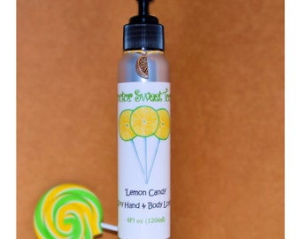 Lemon Candy Body Lotion (Paraben Free)