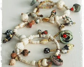 Hippie gypsy bracelets - Rustic bohemian bracelets - Multi use bracelet - Layered jewelry - Stacking bracelets or necklace - Gift for her