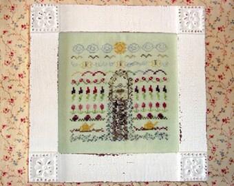 Secret Garden Sampler Cross Stitch PDF Pattern