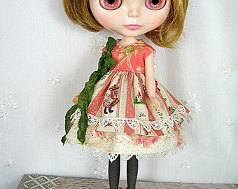 Dress for Blythe Doll, Anne in Green Gables