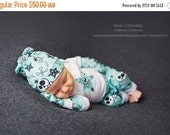 SUMMER SALE EXCLUSIVE Newborn Baby Coming Home outfit set knit beanie shirt pants mittens pink or aqua Anarchy Skull Star Lightening bolts R