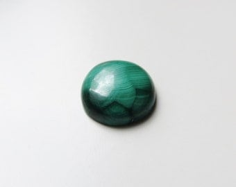 Malachite - Round Cabochon, 12.0 cts - 15mm