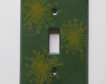 Enamel switch plate