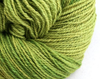 Mohonk Hand Dyed sport weight NYS Wool 370 yds 4oz Peridot