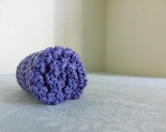 Purple Cotton Dishcloth