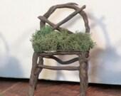 Miniature Fairy chair X backed