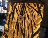 Jungle Print Small Shoulder Bag