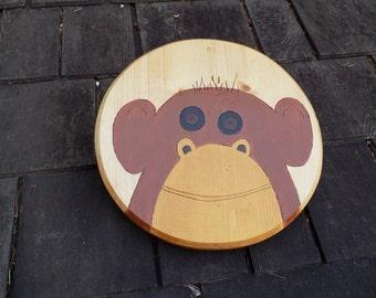 Monkey Boy! Toy Wooden Shield