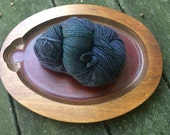 Worsted // Malabrigo Paris Night blue Merino Wool 1 skein yarn