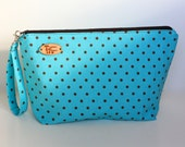 Dotty Print Knitting Project Bag
