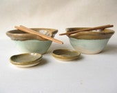 Rice Bowls Set of 2 Clearance Priced
