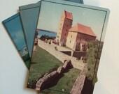 Slim Wallet- Vintage Russia Postcard- Choose 1