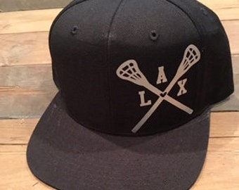 SALE 1 LEFT Snapback Lacrosse Hat