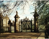 Vintage postcard, unused, Palace of Holyroodhouse, Edinburgh, Scotland, United Kingdom, 1979