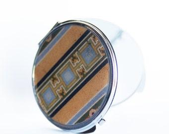 Compact Mirror - Vanity Mirror, Magnifying Mirror, Columbus Circle Mosaic