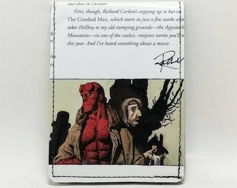 Sewn Comic Book Wallet - Hellboy