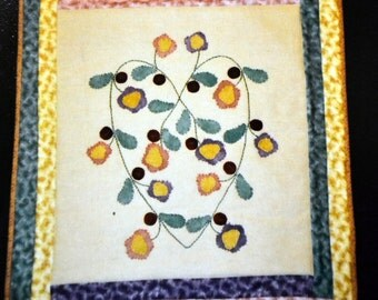 Quilting Pattern  Flowers in My Heart Sew Unique Creations Uncut Complete