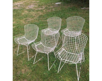 Vintage wire chairs | Etsy