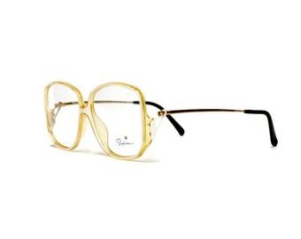 80s Saphira Eyeglass Frame | Vintage Eyewear | German Eyeglasses in unworn deadstock comdition