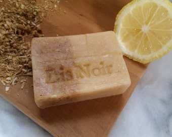Type 2 Lemon And Chamomile Shampoo Bar Naturally Lighten And Brighten With Use