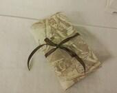 Craft Tool  Roll - Toile de Jouy - Histoire D'eau Cotton