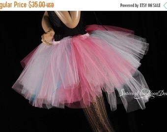 SALE Ready to ship Adult tutu Trash skirt Hi low poofy pastel princess Halloween dance costume party club rave  - Medium - Sisters of the Mo