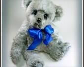 Hartman - Artist Teddy Bear, Handmade, OOAK, Stuffed Animal, 14 inches, Custom Teddys, Made in Alaska