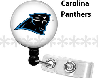 ID reel with MYLAR covering.. Carolina Panthers