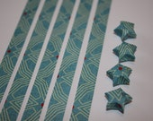 Origami Lucky Star Strips  -  Starburst Circuit Board - pack of 25