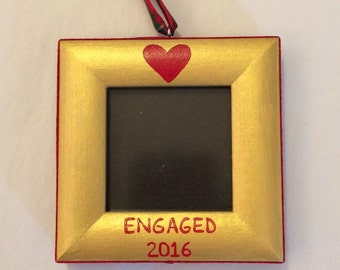 Engaged 2016 ornament
