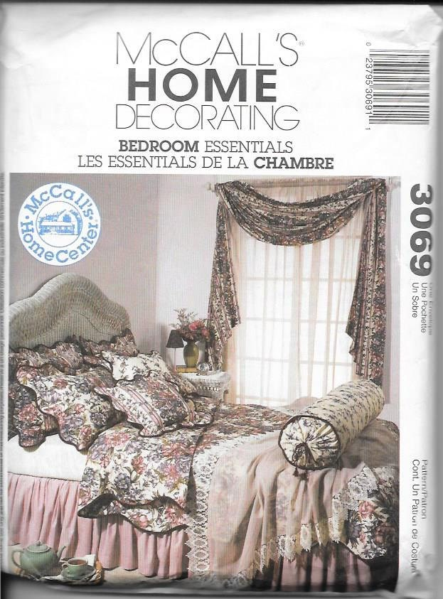 bedroom essentials sewing pattern duvet cover dust ruffle