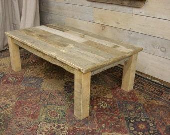 "Driftwood Coffee Table (56"" x 30"" x 16-24"" H)(Custom Request new pics soon)"