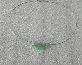 Australian jade pendant