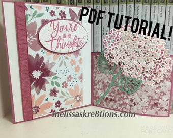 2 in 1 Pop Out Card - TUTORIAL - by Melissa's Kre8tions with Stampin' Up!