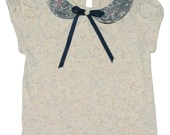 SAMPLE SALE -  Stella t-shirt in Meadowsweet - Size 3