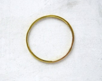 Thin 14k Gold Stacking Ring | Recycled Gold Ring | Delicate Gold Band | Very Thin Gold Ring | Gold Stacking Ring | Midi Ring