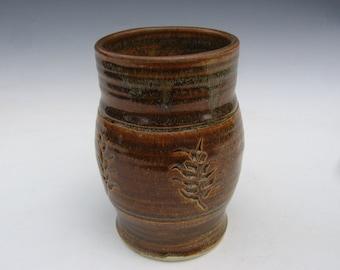 Amber Brown Medieval Cup